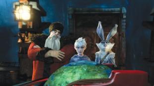 Julenissen, Jack Frost og Påskeharen i De fem legendene (Foto: United International Pictures).