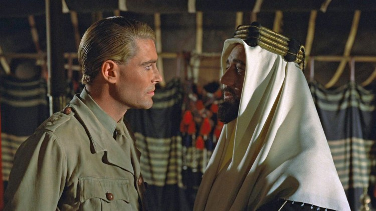 Peter O'Toole og Alec Guinness i Lawrence of Arabia (Foto: Sony Pictures Home Entertainment).