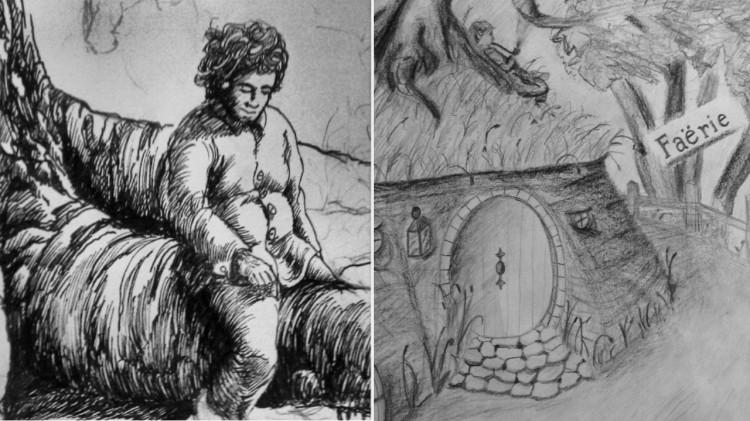 Bilbo funderar av Krugereng, og Lommekroken av Matias Røsvik