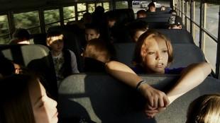 Fra skolebussen i Bully - barna i forgrunnen er ikke direkte involvert i filmen (Foto: SF Norge).