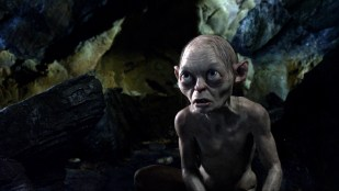 Gollum (Andy Serkis) i Hobbiten: En uventet reise (Foto: Warner Bros. Pictures).