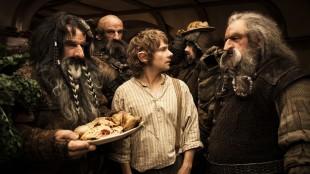 Bilbo Baggins (Martin Freeman) står i sentrum for begivenhetene i Hobbiten: En uventet reise (Foto: Metro-Goldwyn-Mayer Pictures Inc. og New Line Productions, Inc./ Foto: James Fisher).