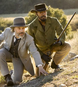 Christoph Waltz og Jamie Foxx i «Django Unchained». (Foto: The Walt Disney Company Nordic)