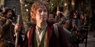 Martin Freeman får mykje skryt for sin portrettering av den yngre Bilbo. (Foto: SF Norge)