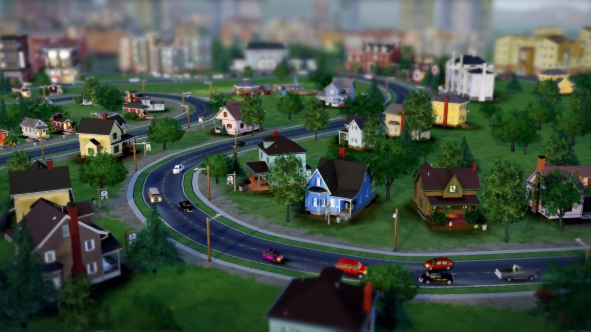 Skjermbilde fra SimCity (2013). (Foto: Maxis / EA)