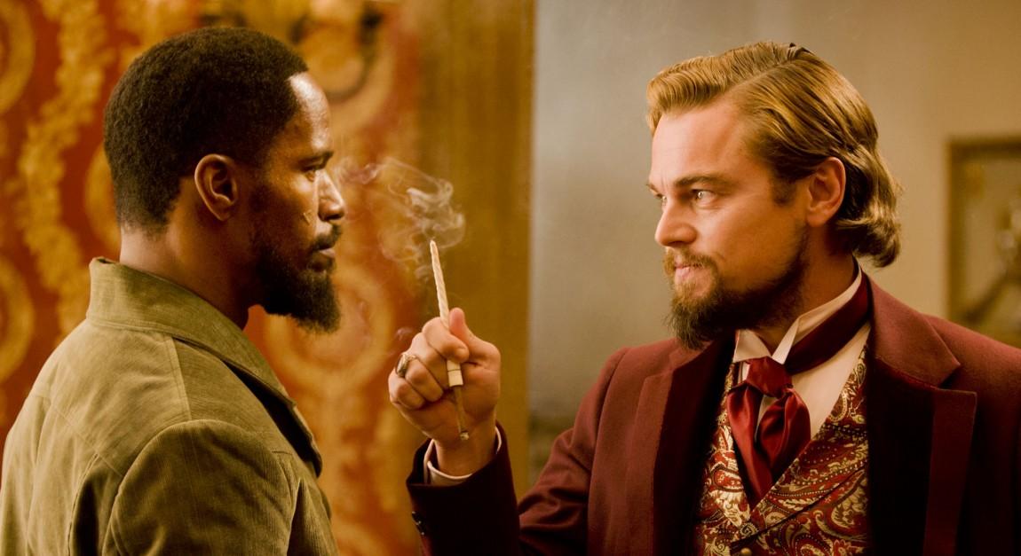 Jamie Foxx og Leonardo DiCaprio i Django Unchained (Foto: The Walt Disney Company Nordic)