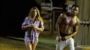 Tania Reymonde og Trey Songz er også med i Texas Chainsaw 3D (Foto: Scanbox).