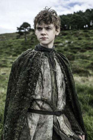 Thomas Brodie-Sangster som Jojen Reed. (Foto: Helen Sloan, HBO).