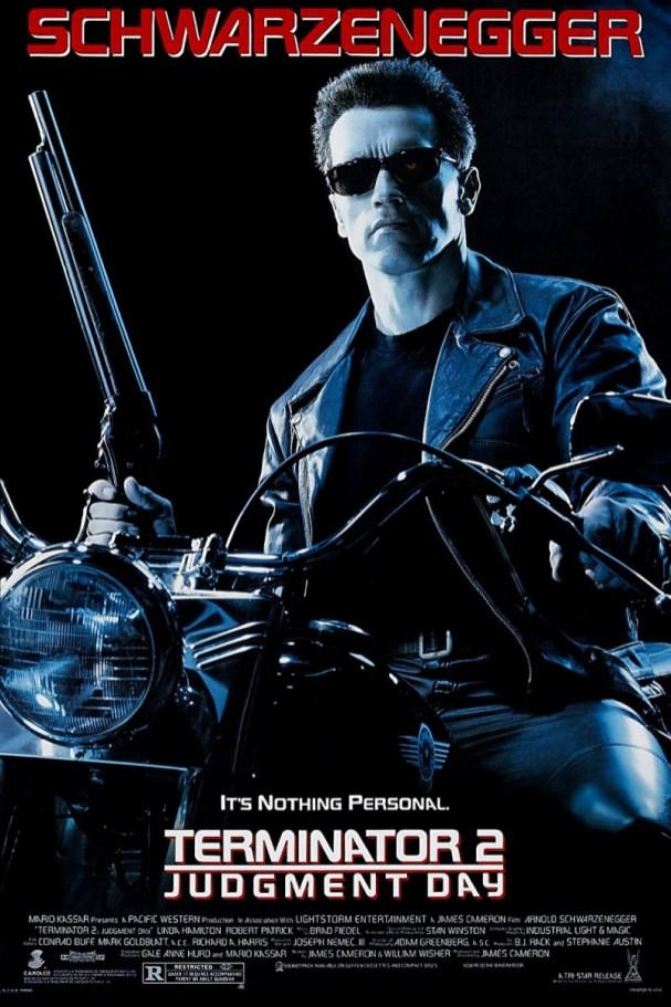 Filmplakat til Terminator 2. (Foto: SF Norge Video)