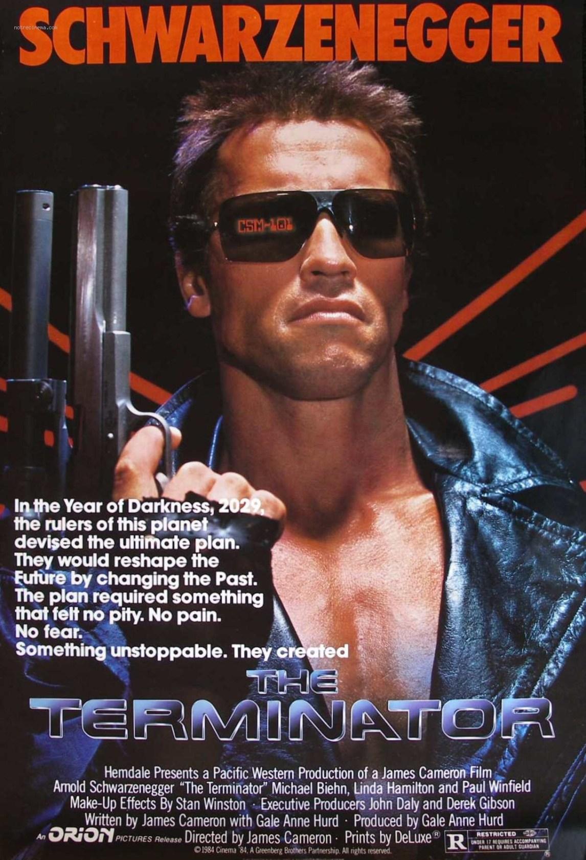 Terminator-poster. (Foto: SF Norge Video)