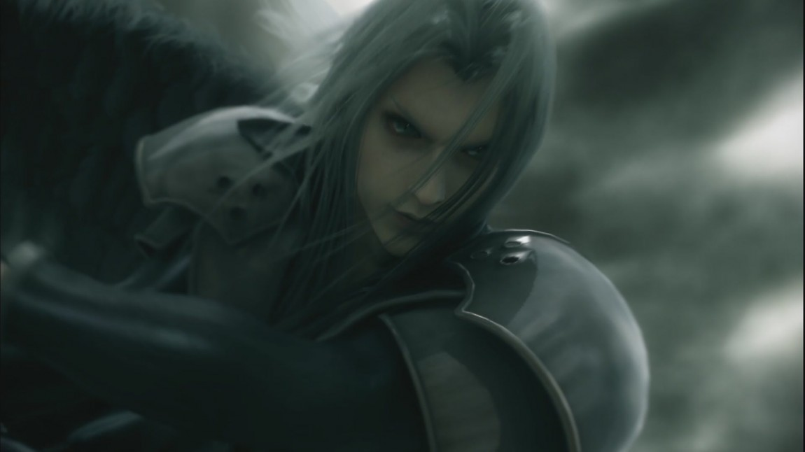 Sephiroth i Final Fantasy: Advent Children. (Foto: Sony Pictures Home Entertainment)
