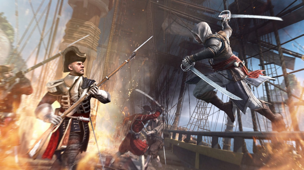 Piratenes liv står i fokus for fortellingen i «Assassin's Creed 4». (Foto: Ubisoft)
