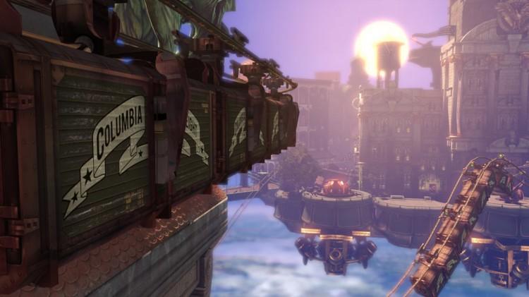 Columbia er byen du må utforske i Bioshock Infinite (Foto: 2K/Irrational Games).