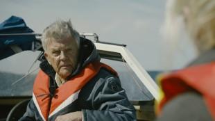 Sven-Bertil Taube spiller Johannes i Jag etter vind (Foto: Motlys / Norsk Filmdistribusjon).