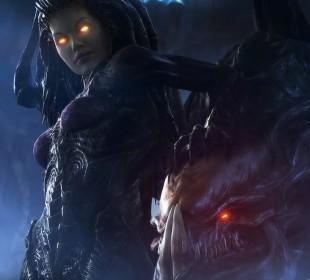 Kerrigan har en sentral rolle i «Heart of the Swarm». Foto: Blizzard)