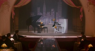 Donald og Daffy i pianoduell i Hvem lurte Roger Rabbit (Foto: Walt Disney Studios Home Entertainment).