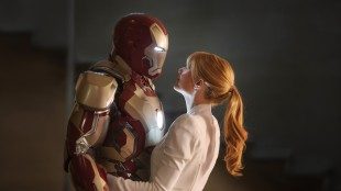 Robert Downey Jr. og Gwyneth Paltrow i Iron Man 3 (Foto: The Walt Disney Company Nordic).