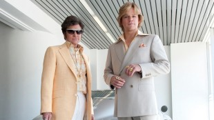 Michael Douglas og Matt Damon i «Behind the Candelabra». (Foto: HBO)