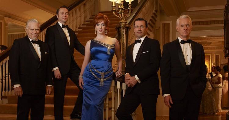 Castbilde fra sesong 6 av Mad Men. (Foto: AMC)