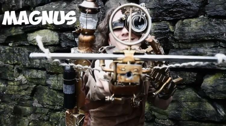Magnus er en dreven cosplayer fra Bergen. (Foto: ITV Studios Norway AS).