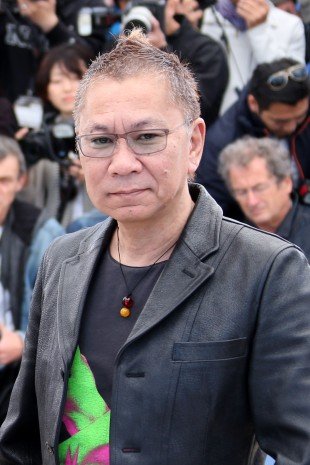 Den Japanske regissøren Takashi Miike (Foto: AFP Photo/Loic Venance, NTB Scanpix)