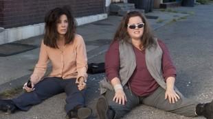 Sandra Bullock og Melissa McCarthy blir motvillige partnere i The Heat (Foto: 20th Century Fox).