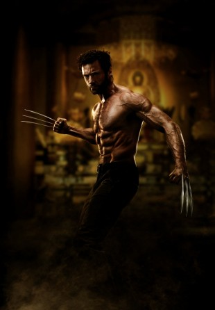 Hugh Jackman flasher sixpacken i The Wolverine (Foto: Twentieth Century Fox Norway).