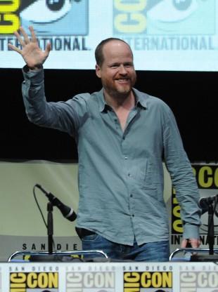 Regissør Joss Whedon blir tatt i mot av jublende folkemengder på Comic-Con 2013 i San Diego. (Foto: Kevin Winter/Getty Images/AFP)