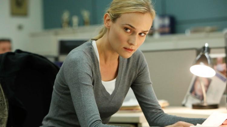 Diane Kruger er ikke troverdig som Sonya i The Bridge. (Foto: FOX).