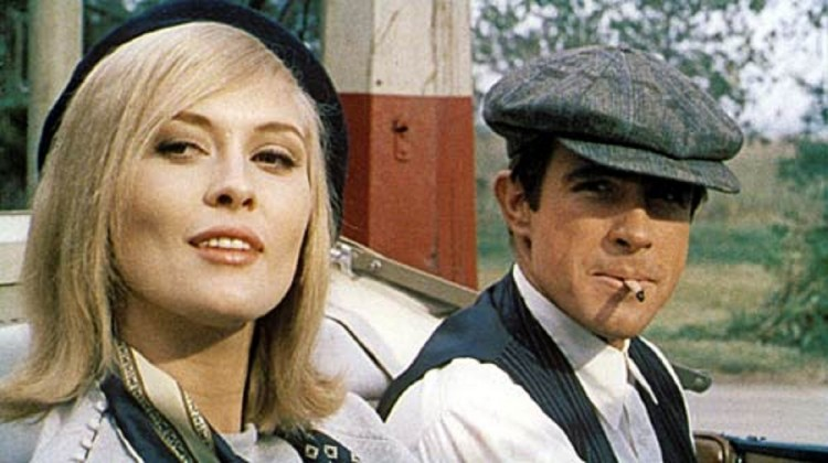 Bonnie and Clyde fra 1967.