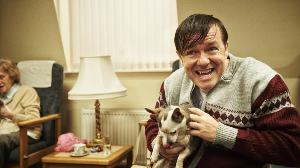 Dette er Ricky Gervais nyeste figur, Derek (Foto: Netflix).