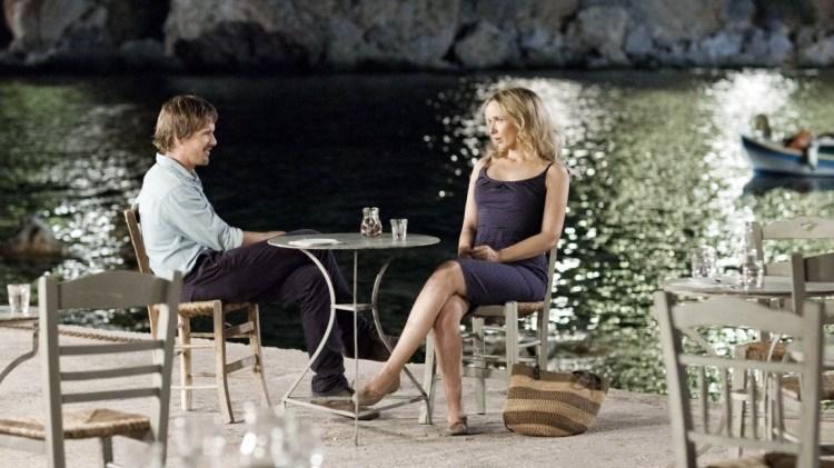 Ethan Hawke og Julie Delpy spiller Jesse og Celine i Før midnatt (Foto: Norsk Filmdistribusjon).
