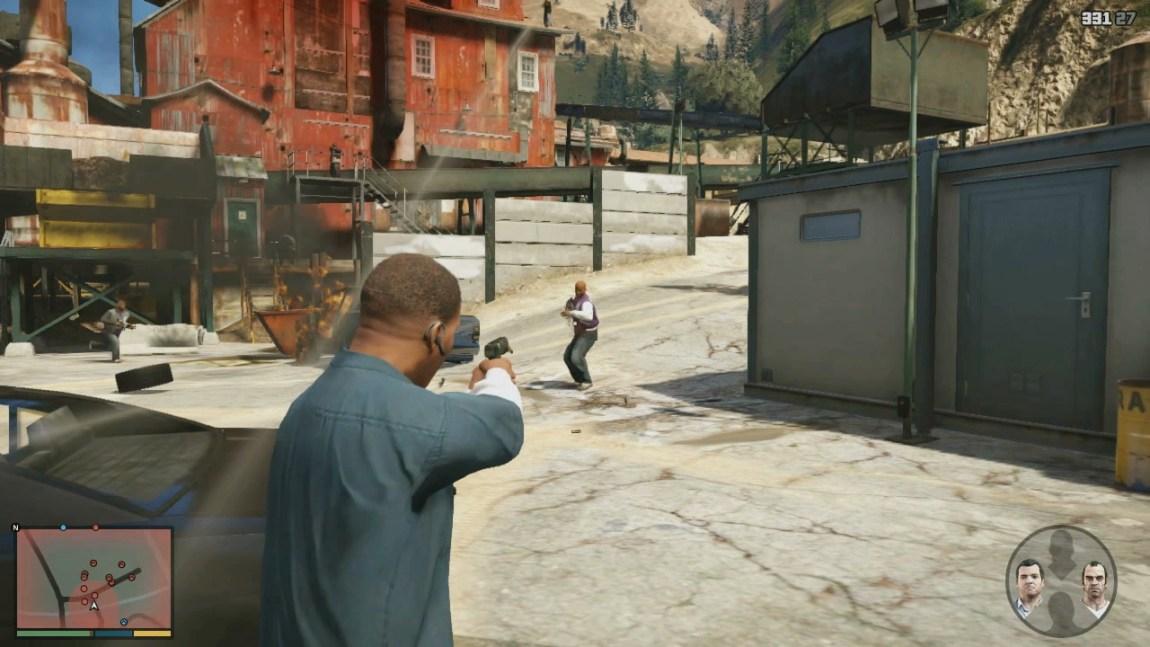 Skjermbilde fra «GTA V». (Foto: Rockstar Games)