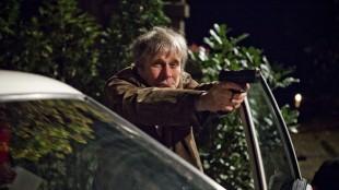 Per Schaanning spiller detektivens politipappa i Detektiv Downs (Foto: Friland Produksjon / Nordisk Film Distribusjon AS).