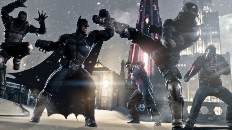 Kampsystemet i Batman: Arkham Origins er det samme som i forgjengeren. (Foto: Warner Bros Interactive).