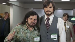 """Josh Gad som Steve """"Woz"""" Wozniak og Ashton Kutcher som Steve Jobs. (Foto: SF Norge)."""