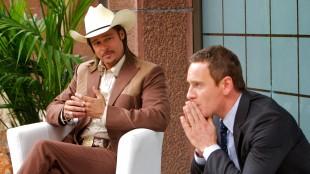 Brad Pitt og Michael Fassbender i The Counselor (Foto: 20th Century Fox).