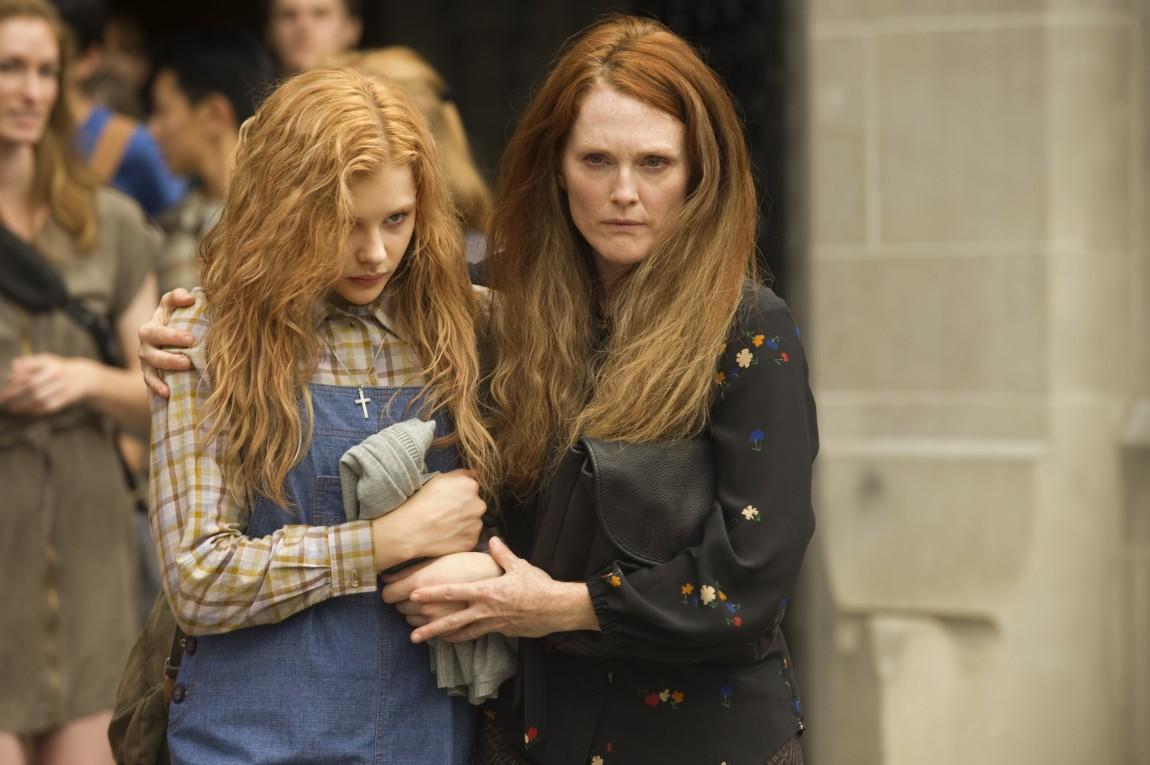 Chloe Moretz og Julianne Moore i «Carrie». (Foto: SF Norge)