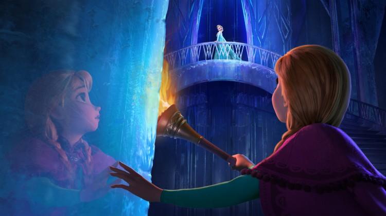 Prinsesse Anna må redde søsteren Elsa i Frost (Foto: The Walt Disney Company Nordic).