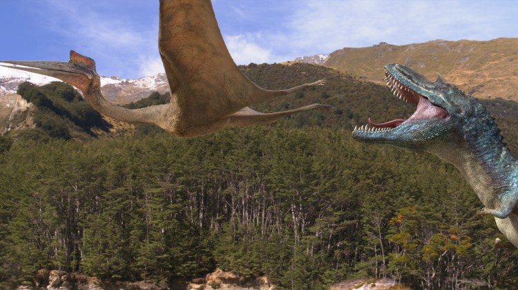 Gode effekter i Walking With Dinosaurs (Foto: Fox Film).