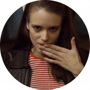 Stacy Martin som Joe i «Nymphomaniac». (Foto: Nordisk Film)