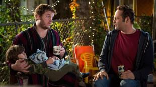 Chris Pratt og Vince Vaughn i Delivery Man (Foto: Nordisk Film Distribusjon AS).