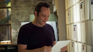 Vince Vaughn er mest kjent for komiske roller. Her i et promobilde for filmen «Delivery Man». (Foto: Nordisk Film Distribusjon AS)