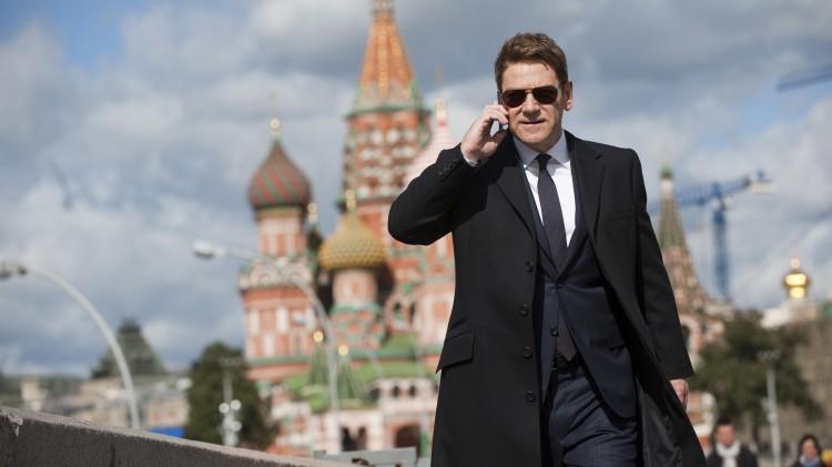 Kenneth Branagh spiller skurk og har også regissert Jack Ryan: Shadow Recruit (Foto: UIP).