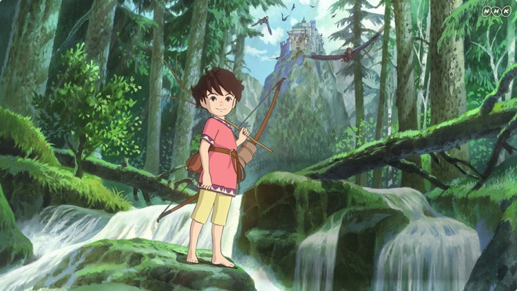 Ronja Røverdatter i Studio Ghiblis uttrykk. (Foto: Ghibli)