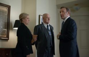 Underwood møter politisk motstand som visepresident. (Foto: Nathaniel Bell for Netflix)
