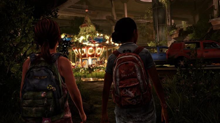 Et lite stykke lykke i en grusom verden. The Last of Us: Left Behind DLC. (Foto: Sony COmputer Entertainment Europe).