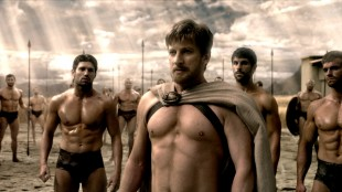 David Wenham og sixpack-krigere i 300: Rise of an Empire  (Foto: Warner Bros. Pictures/ SF Norge AS).