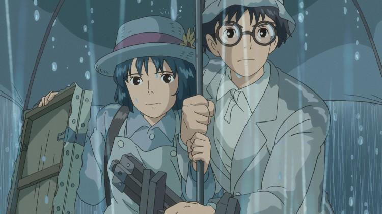 Nahako og Jiro finner kjærligheten i Vinden stiger (Foto: Arthaus).
