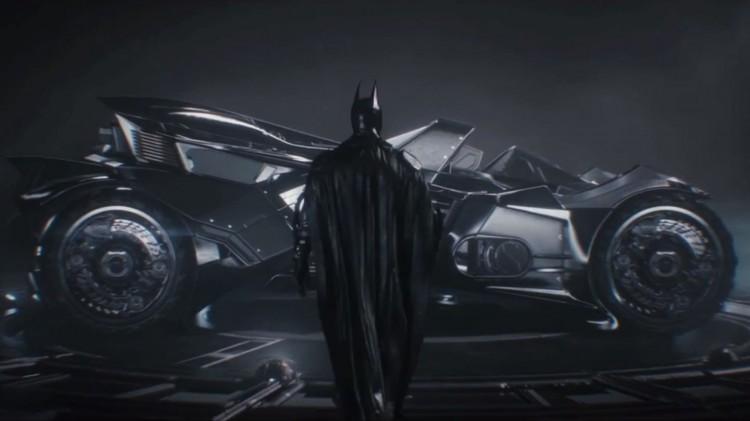 I Batman: Arkham Knight får du endelig muligheten ti lå kjøre Batmobilen. (Foto: Warner Bros. Interactive).